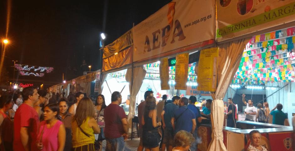 Las Fiestas de Alcorcón se viven en las casetas del Ferial
