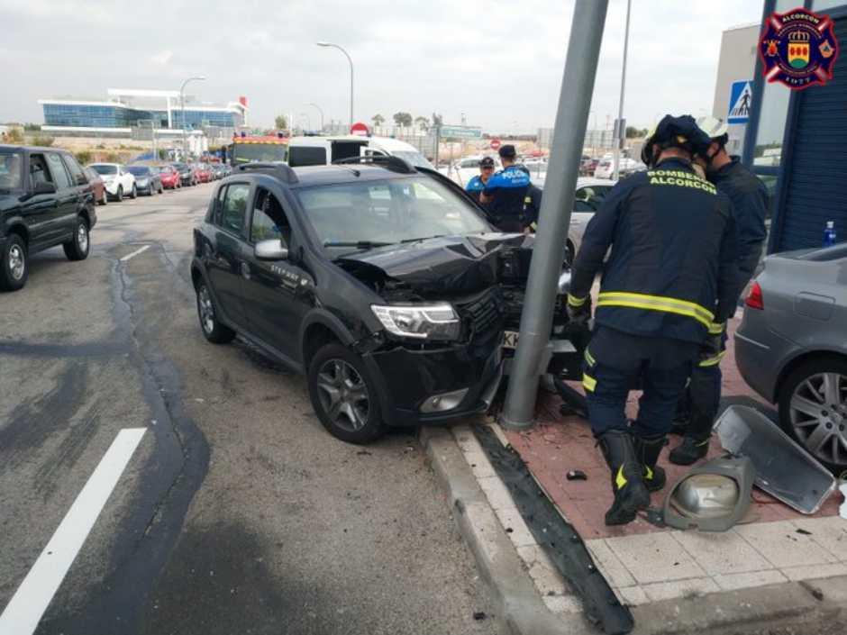 Accidente de tráfico en Alcorcón