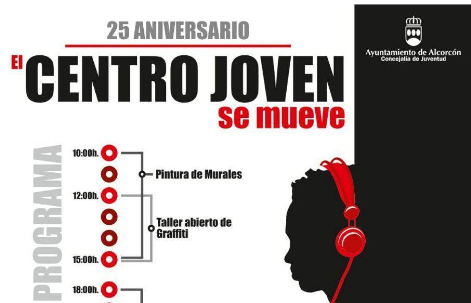 El Centro Joven de Alcorcón celebra su 25 aniversario