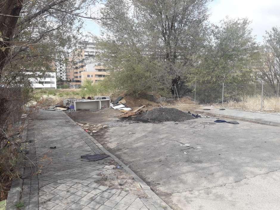 Vox Alcorcón califica de abandono la situación en Fuente Cisneros