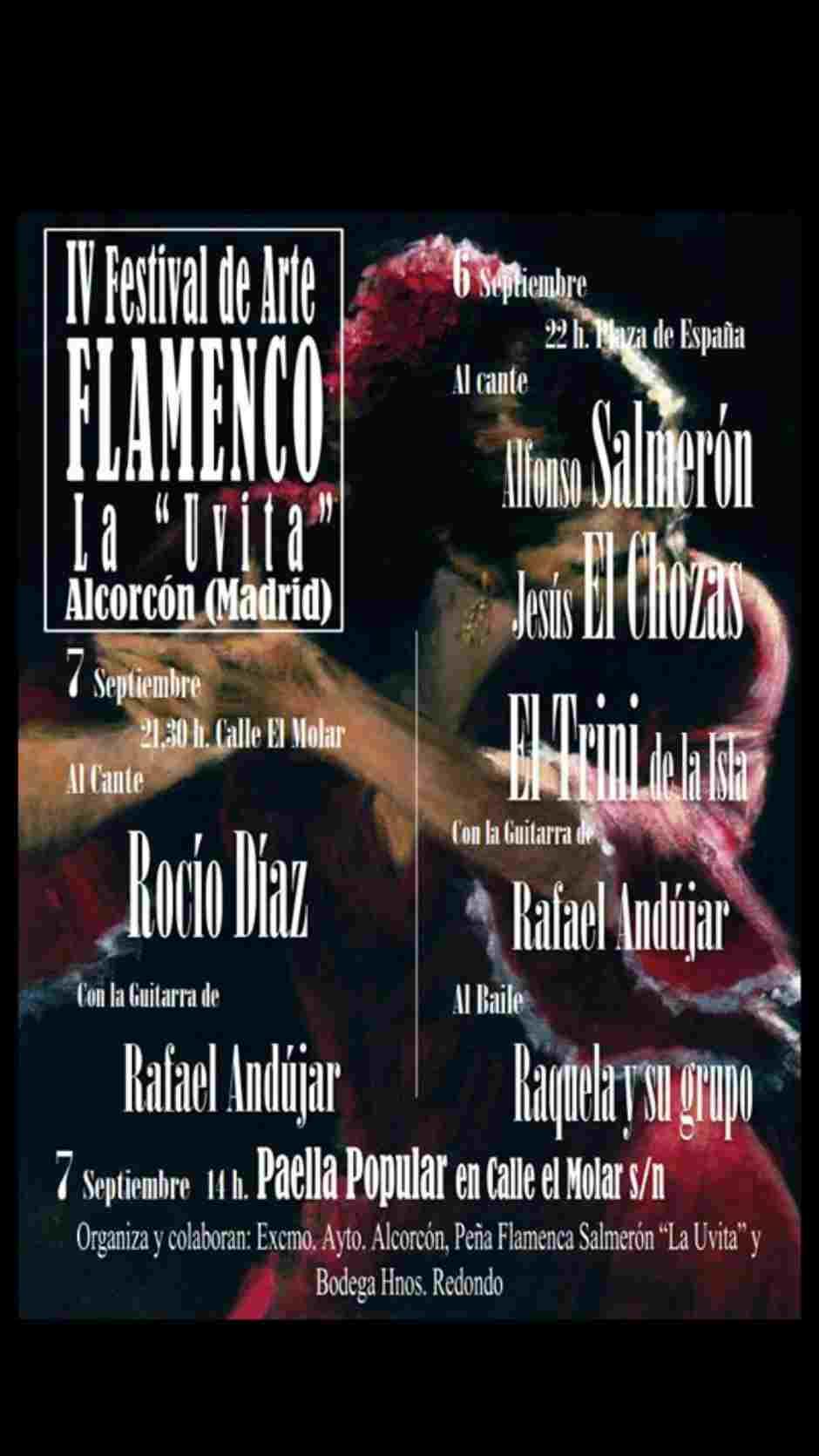 Programación sábado 7 de septiembre de las Fiestas de Alcorcón