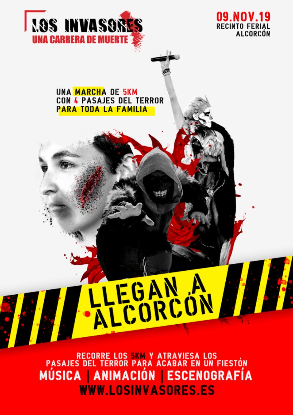 Alcorcón será invadida el 9 de noviembre