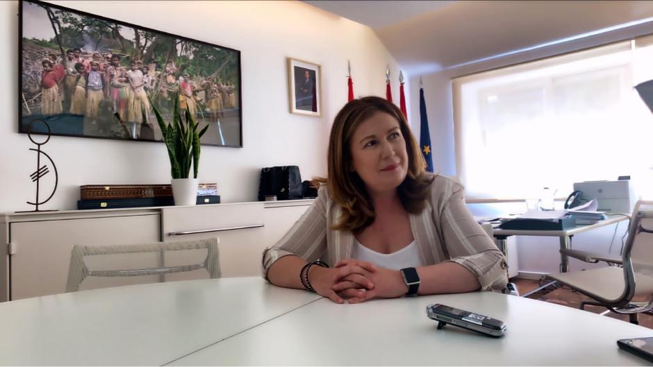 """Natalia de Andrés: """"Si se quiere, se puede"""""""