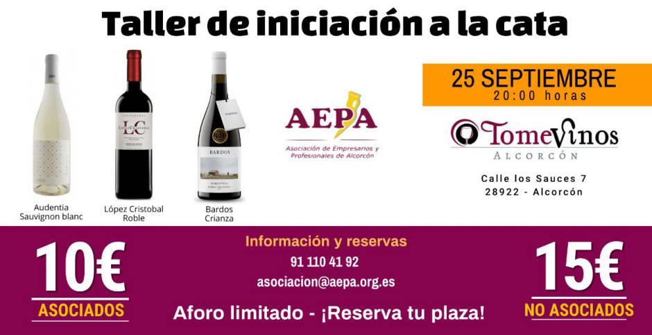 Compartir vinos en Alcorcón