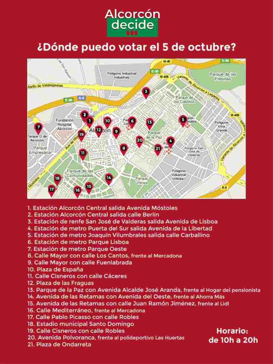 2.367 participantes en la consulta Alcorcón Decide