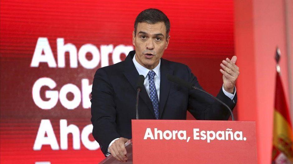 Pedro Sánchez en Alcorcón el 13 de octubre