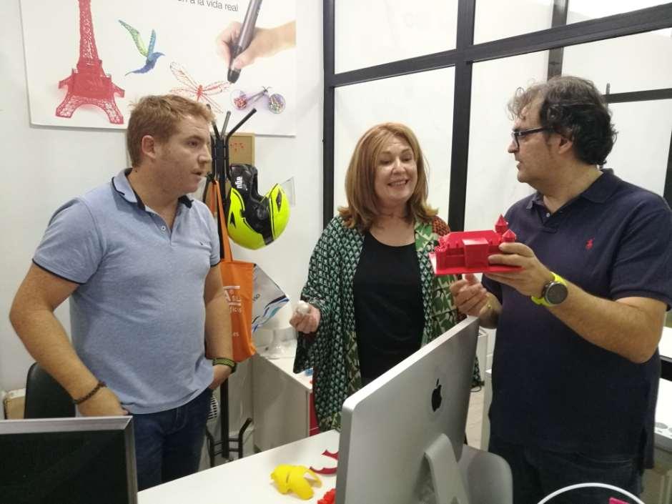 El centro de negocios y coworking Dream-Soft se encuentra en la Avda. Alcalde José Aranda 53