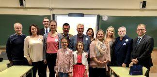 Alcorcón y la República Checa en el Colegio Amanecer