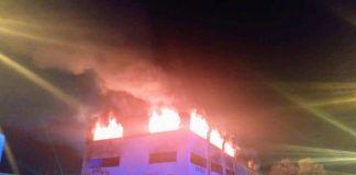 Accidentes e incendios en el comienzo de 2020 en Alcorcón