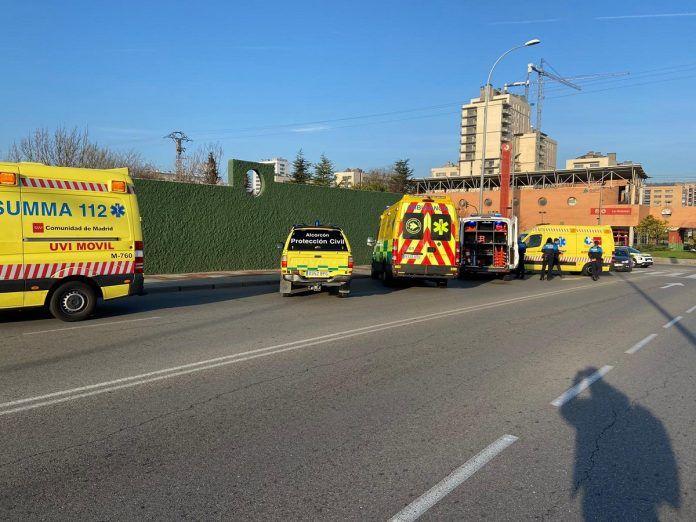 Accidentes en Alcorcón durante el fin de semana