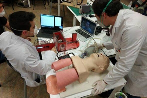 La URJC desarrolla un respirador