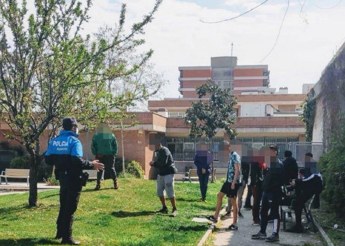 Advertencias verbales y primeras multas en Alcorcón