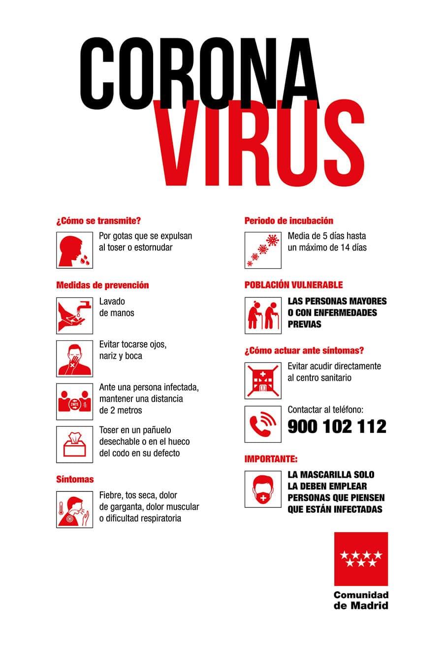 Los casos de coronavirus siguen aumentando en la Comunidad de Madrid