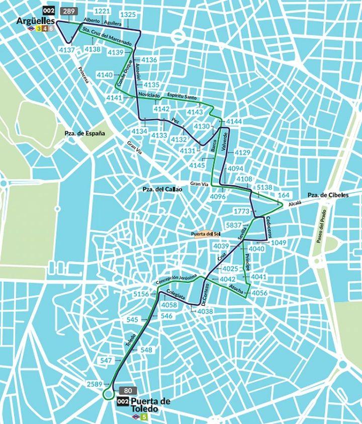 segunda línea Madrid 360