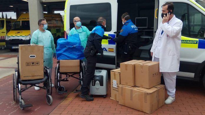 Donación de maquinaría al Hospital Fundación Alcorcón