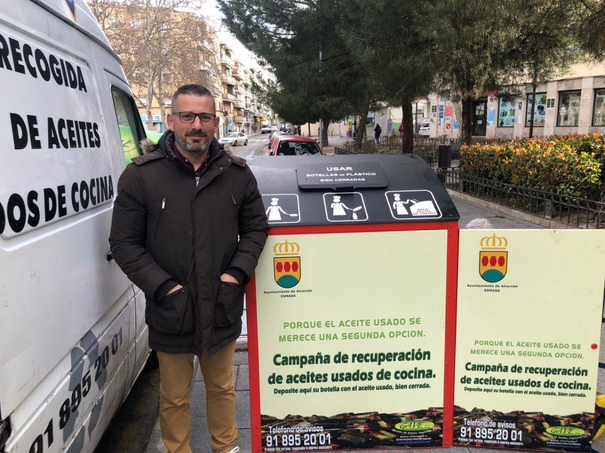contenedores aceite Alcorcón