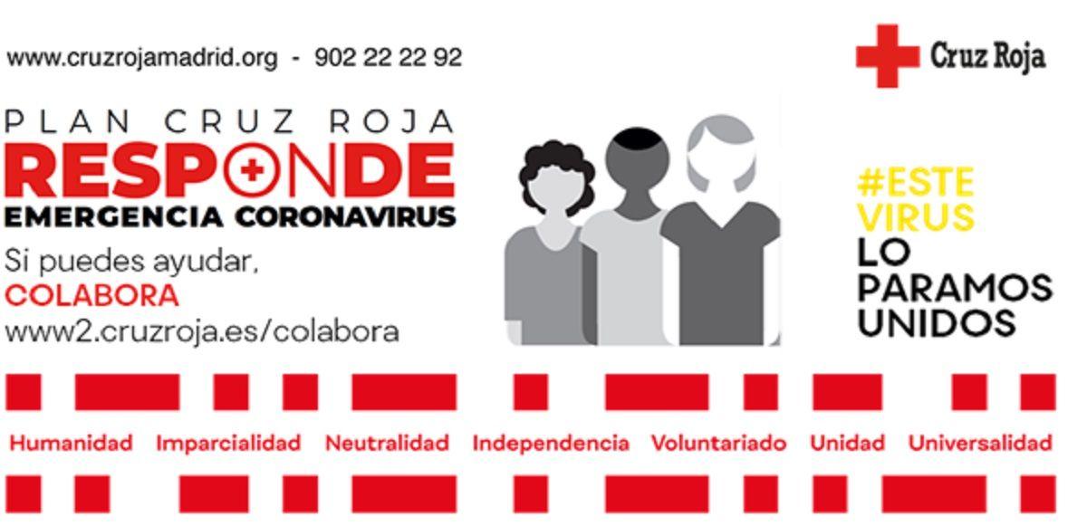La AD Alcorcón de FSF y Cruz Roja Alcorcón responden ante el coronavirus