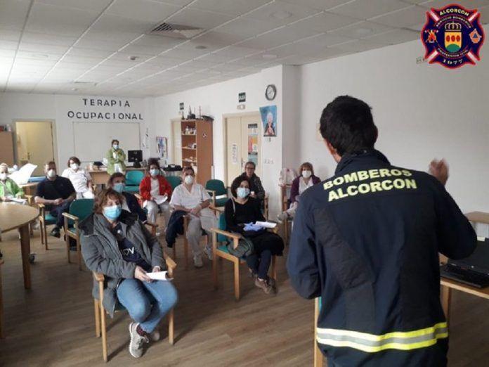 Formación contra el coronavirus en las Residencias de Mayores de Alcorcón