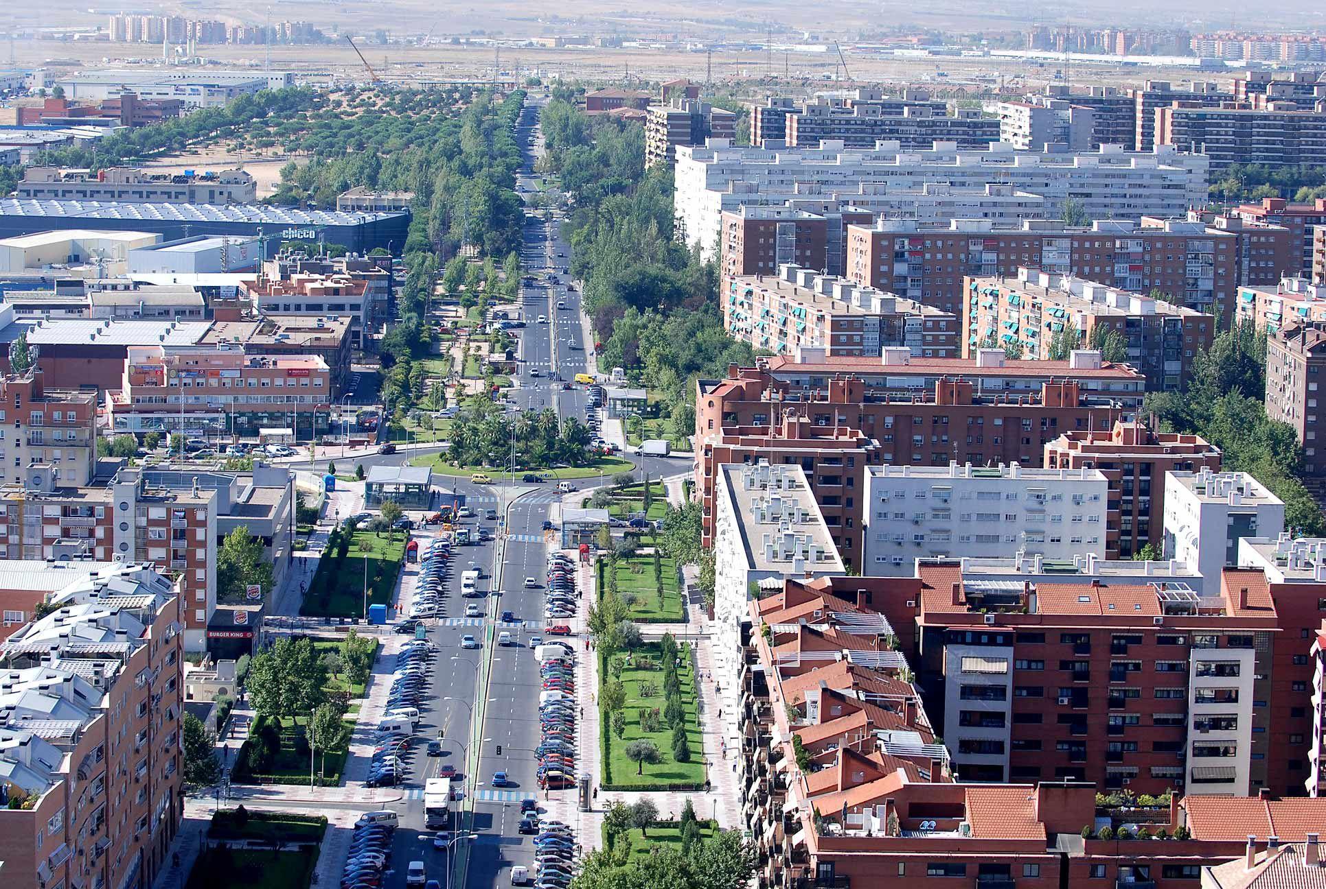 Peatonalización temporal de calles en Alcorcón
