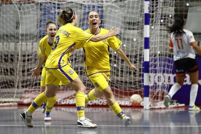 El Alcorcón FSF a la final de la Liga tras vencer a Ourense
