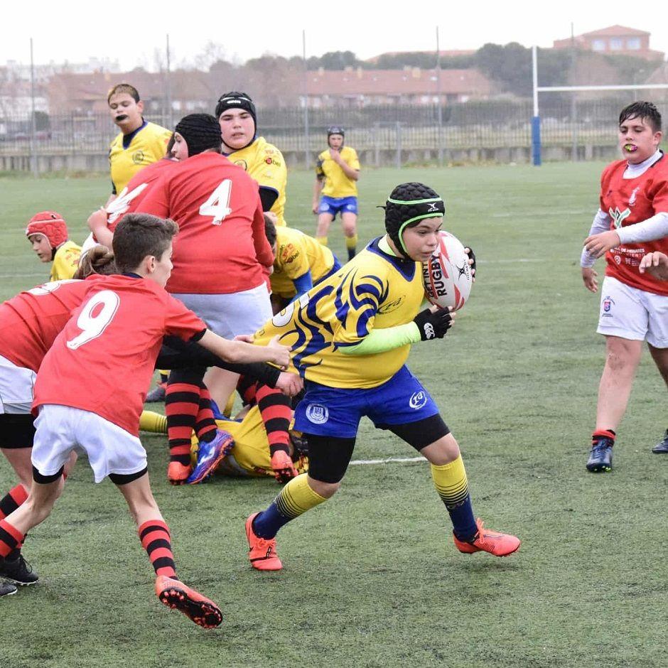 Liam pasión en Alcorcón por el rugby y los e-Sports