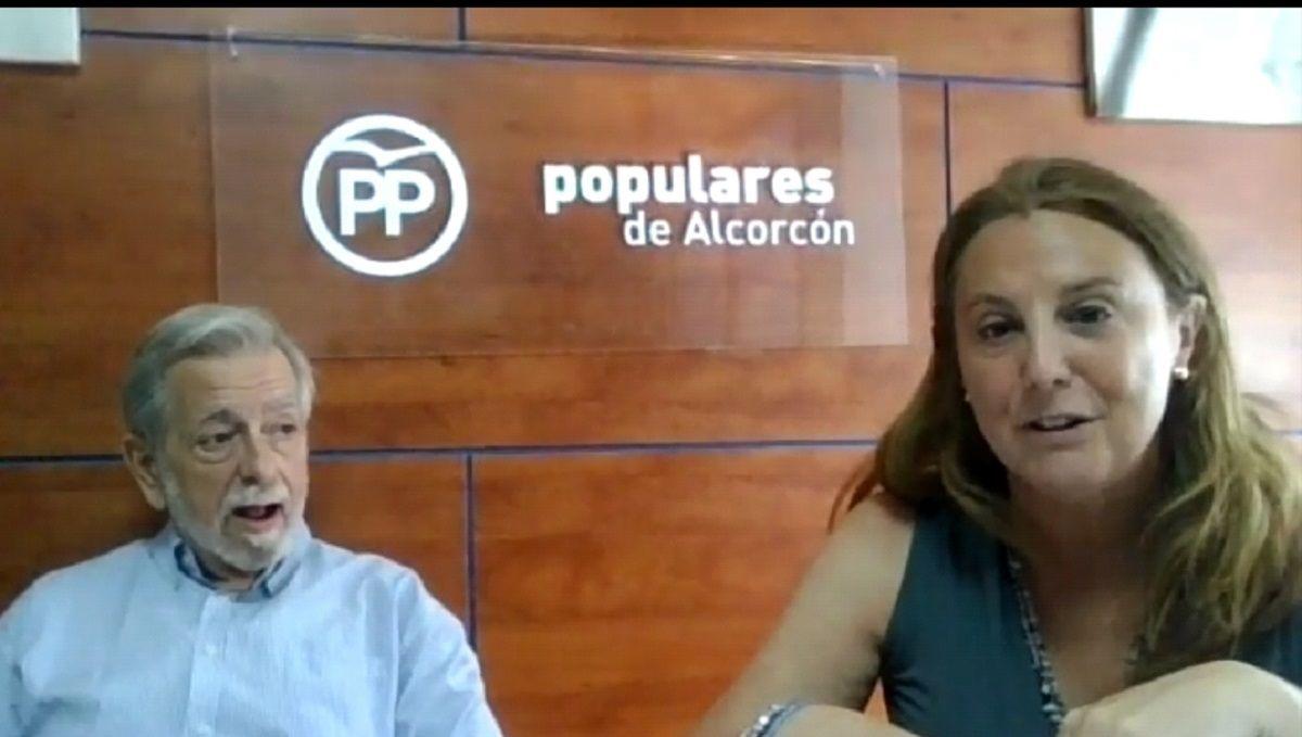 """A. Beteta """"El Gobierno Local ha hecho unos presupuestos para socialistas y podemitas y no para todos los vecinos de Alcorcón"""""""