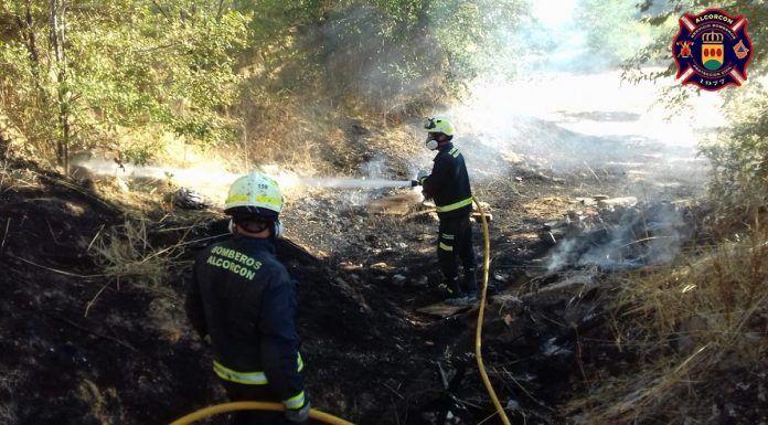 Incendios este miércoles en Alcorcón