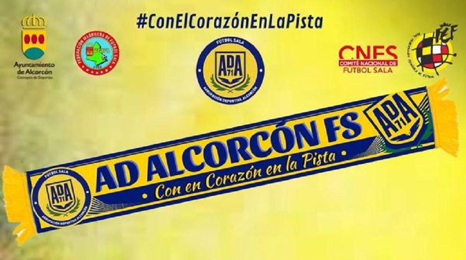 El Alcorcón FS impulsa un crowdfunding para asumir los protocolos contra el COVID-19