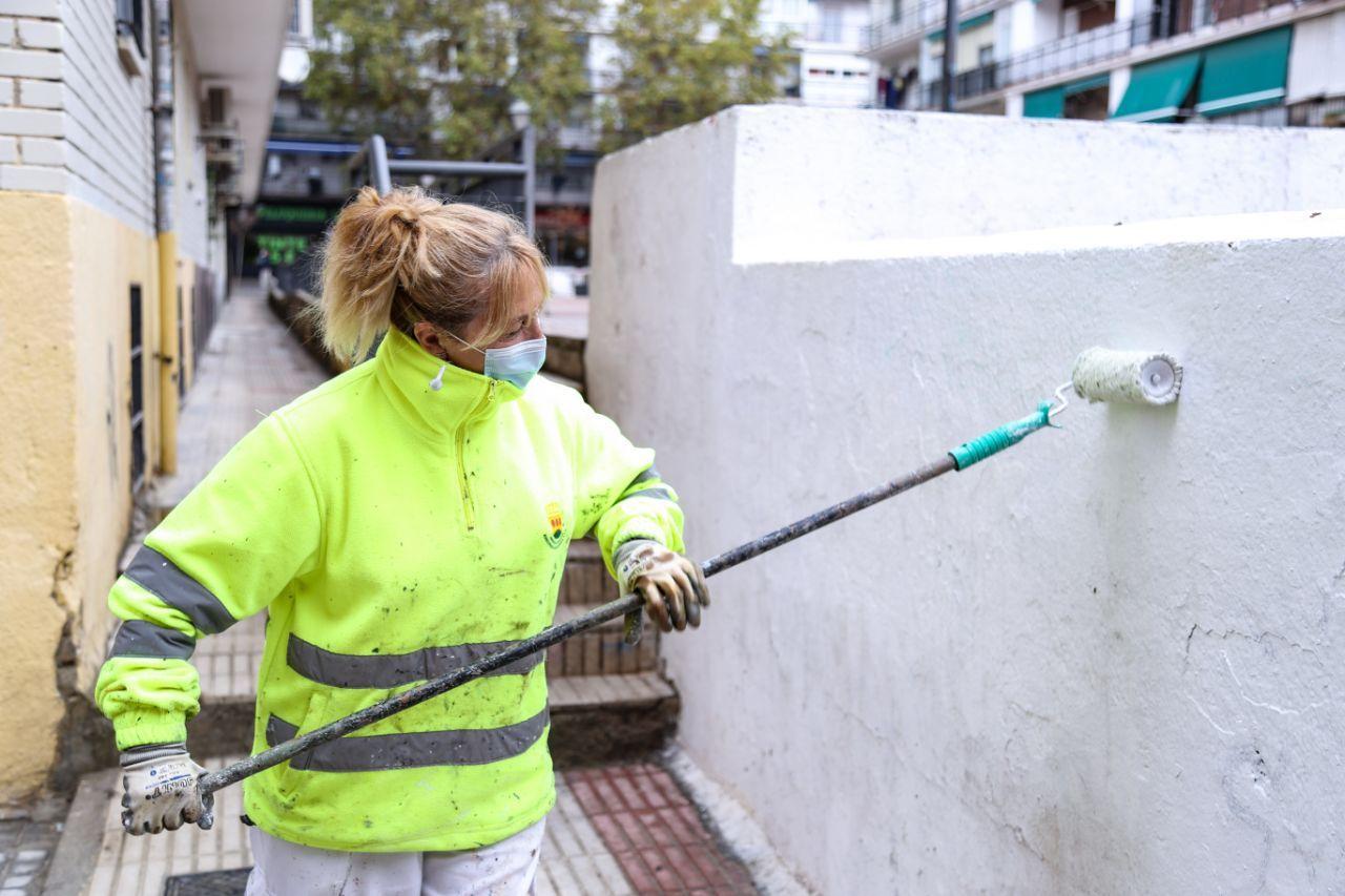 """Alcorcón seis semanas limpiando """"Barrio a Barrio"""""""