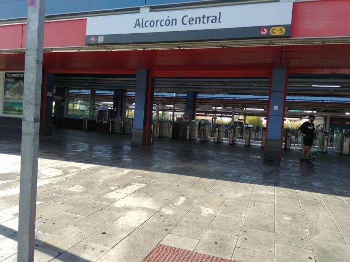 A las 22:00 horas comienza el confinamiento de Alcorcón