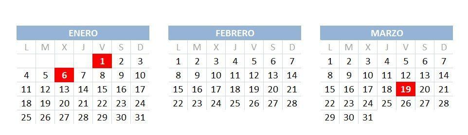 Calendario Laboral de Alcorcón 2021