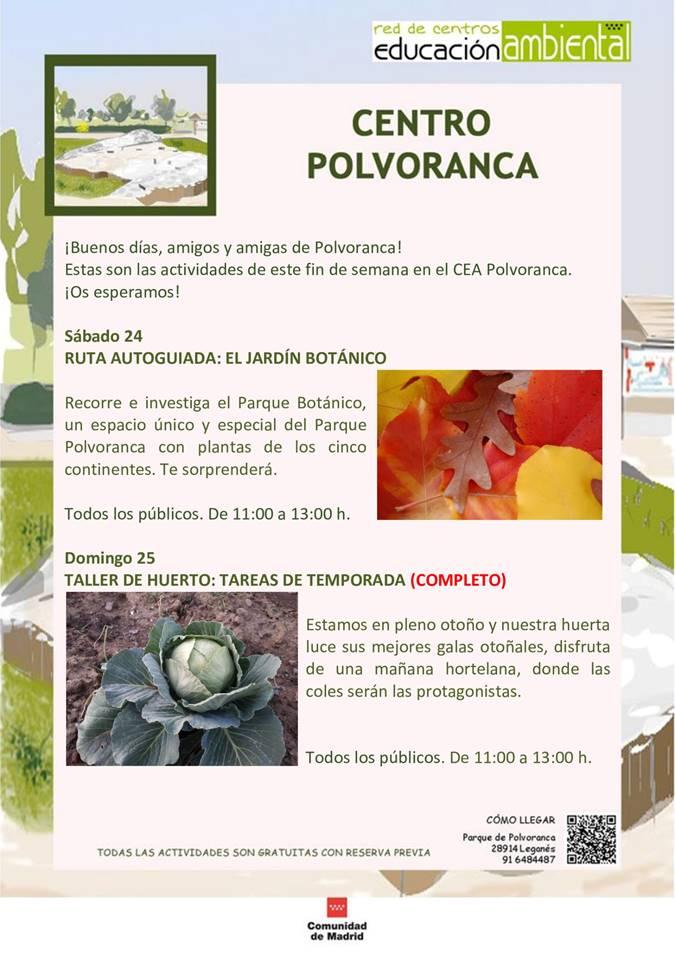 Agenda de Ocio Alcorcón del 23 al 25 de octubre