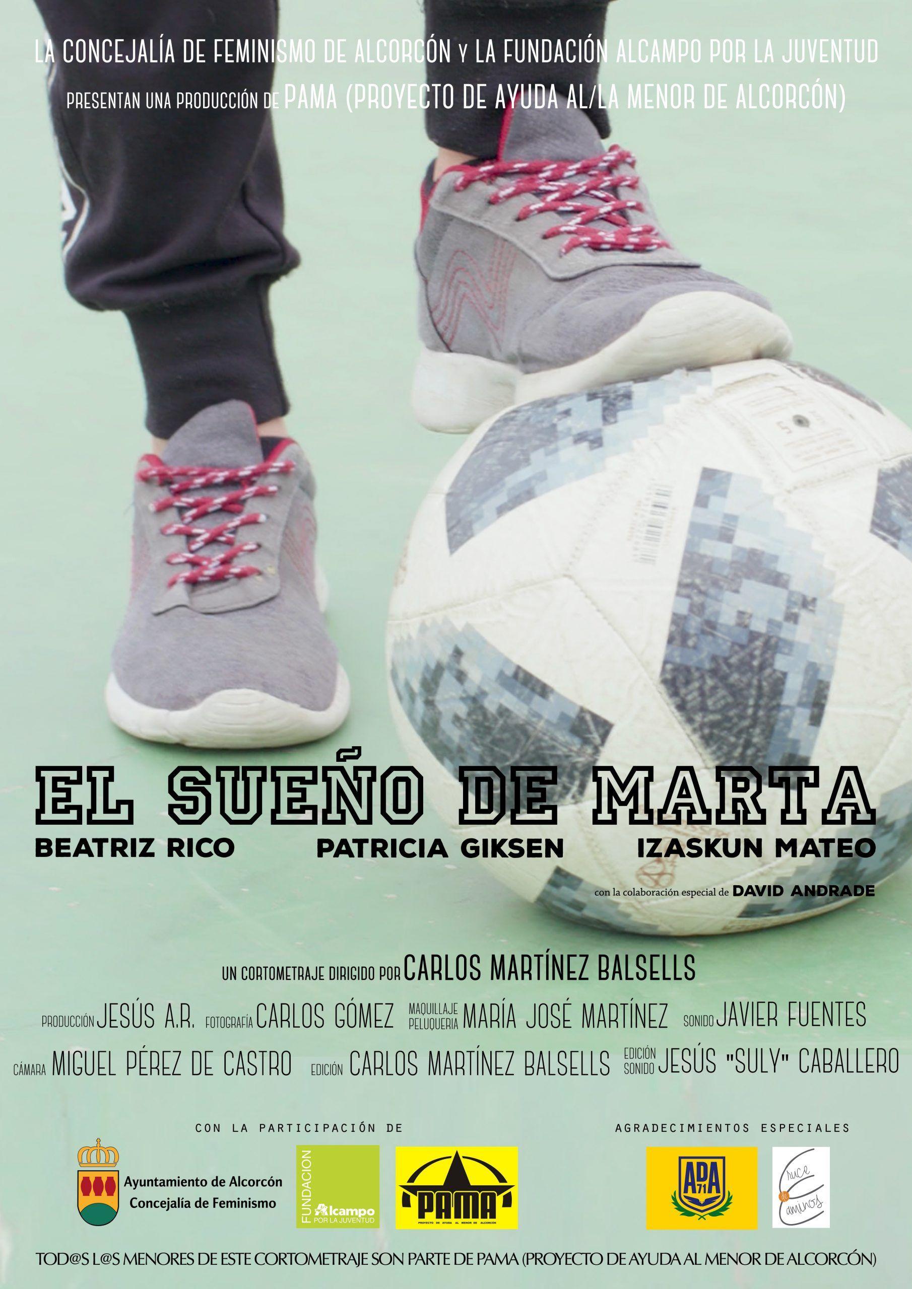 """""""El Sueño de Marta"""" cortometraje made in Alcorcón"""