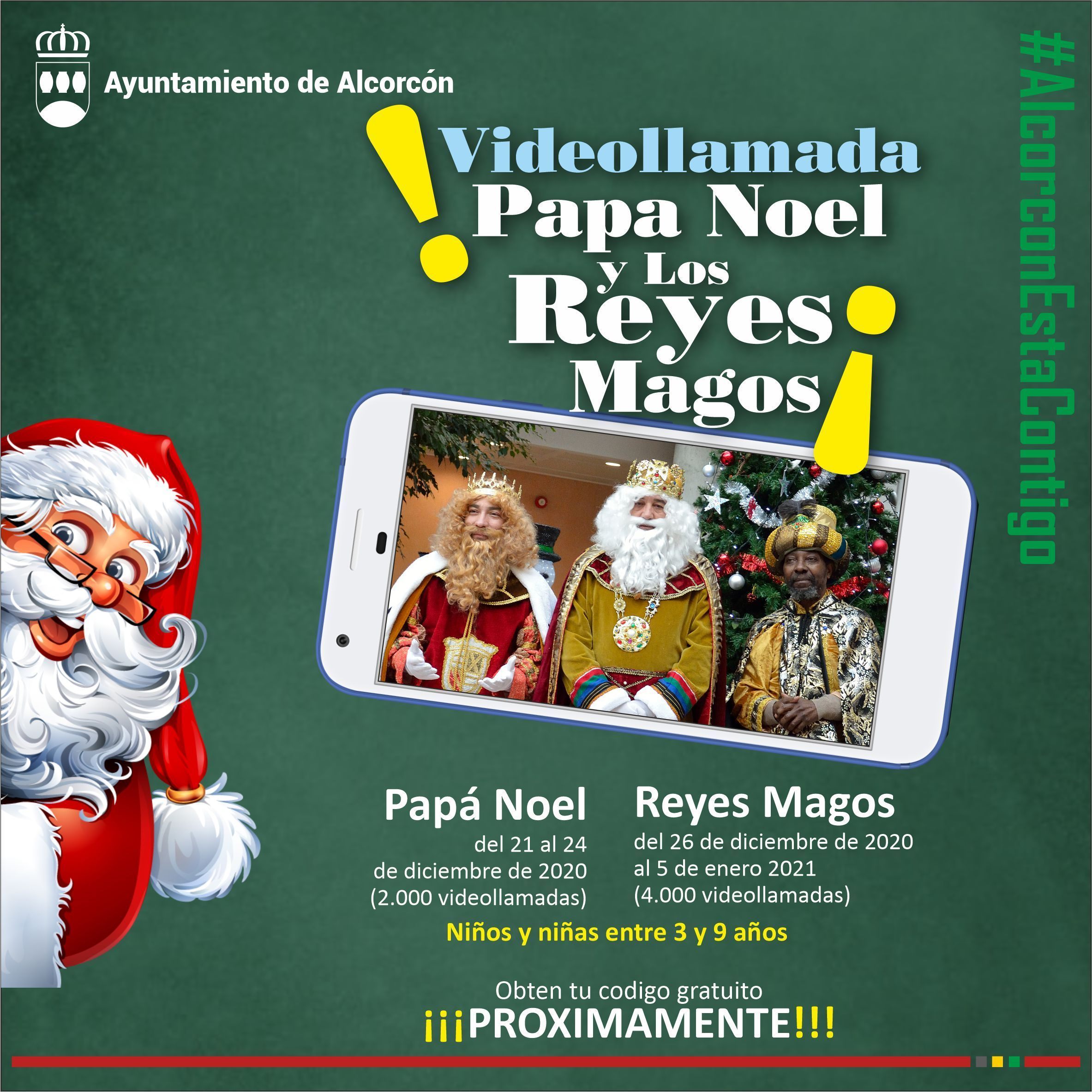 Alcorcón enciende la Navidad este viernes