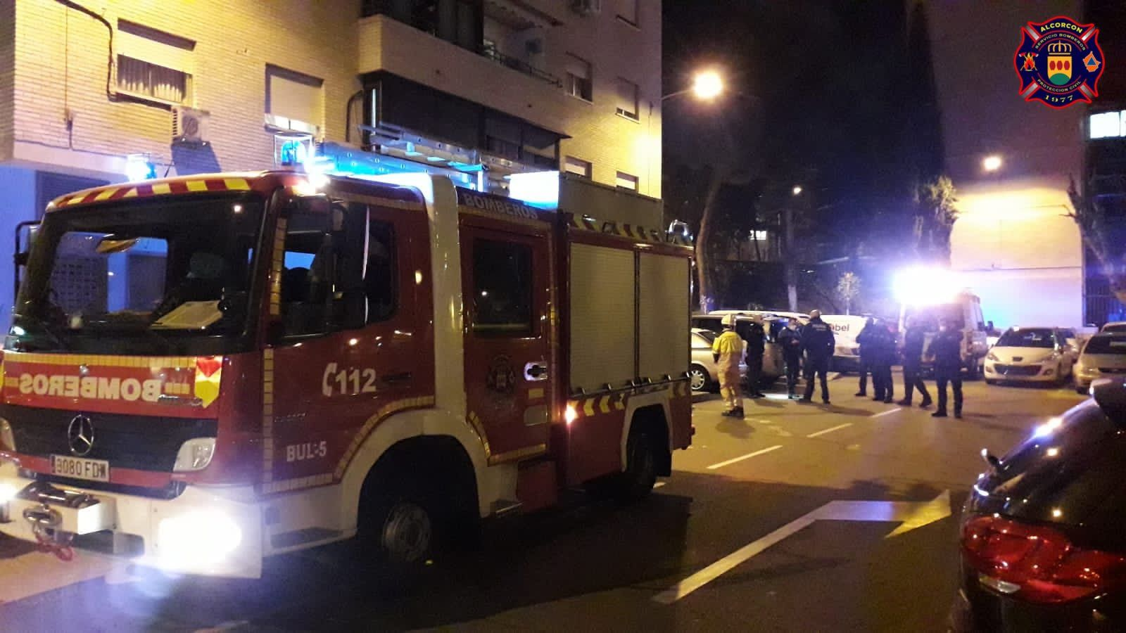 Esta semana varios incendios en Alcorcón