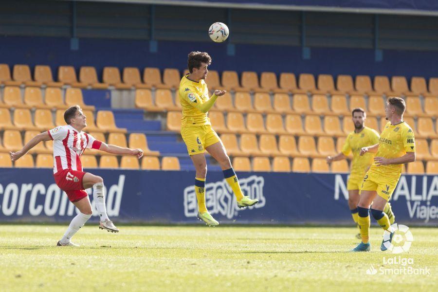 Alcorcón 0-1 Almería/ Makaridze fue un muro para el Alcorcón
