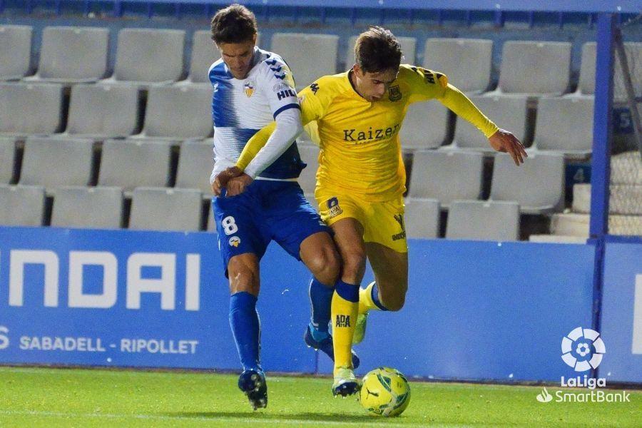 Sabadell 1-1 AD Alcorcón/ El Alcorcón pierde dos puntos en la zona cesarini