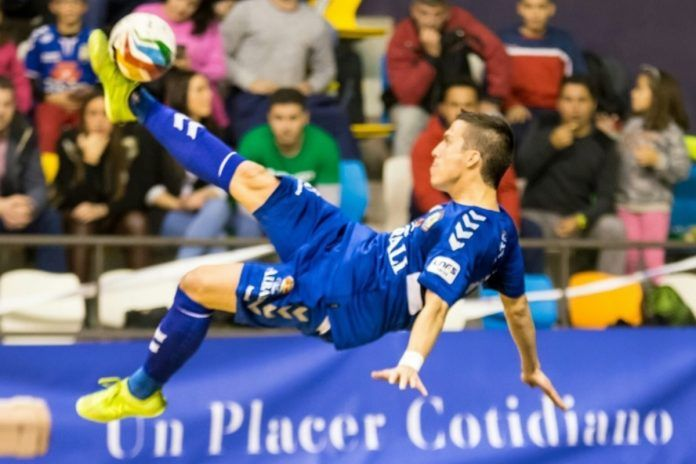 Dani Santos, de Alcorcón, marca el mejor gol de la década