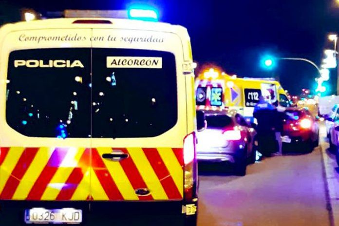 Un conductor provoca un accidente y da positivo en alcoholemia en Alcorcón