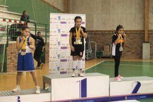 La pequeña Sara Sánchez, icono deportivo del año en Alcorcón