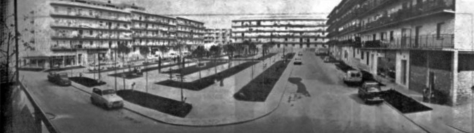 El antes y después de las plazas de Alcorcón, la Plaza del Sol