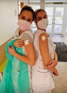 Empiezan a vacunar del Covid-19 en el Hospital de Alcorcón