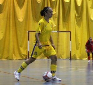 Vale Sotelo, del AD Alcorcón FSF, candidata a Mejor Jugadora del Mundo