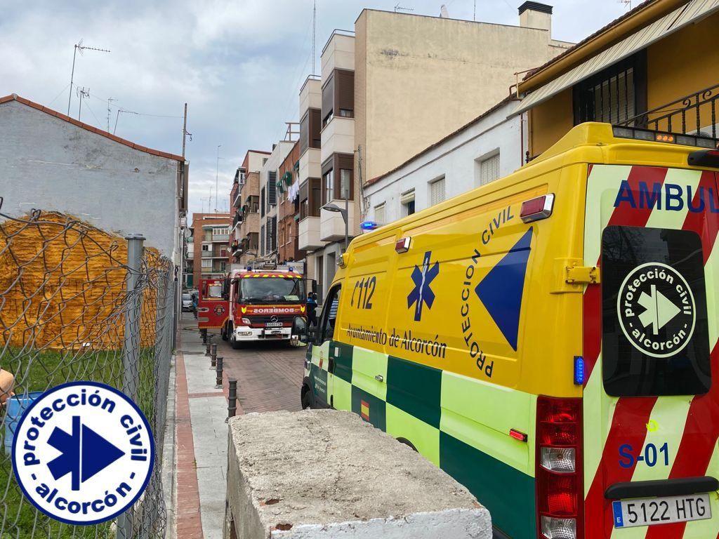 Incendio e incumplimientos del toque de queda en Alcorcón