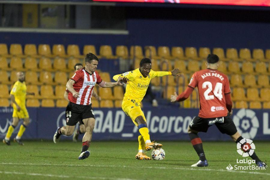 AD Alcorcón 1-0 Logroñés/ El Alcorcón se agarra a la categoría desde el punto de penalti