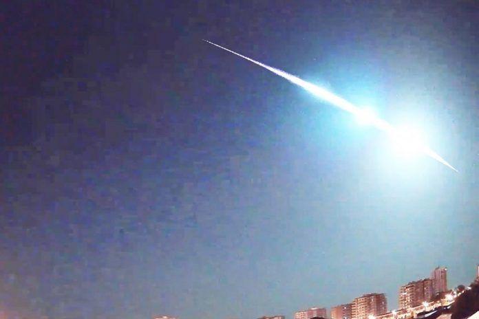 Avistado un 'meteorito' en el cielo de Alcorcón