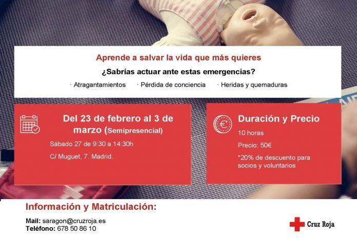 Curso de primeros auxilios para los vecinos de Alcorcón