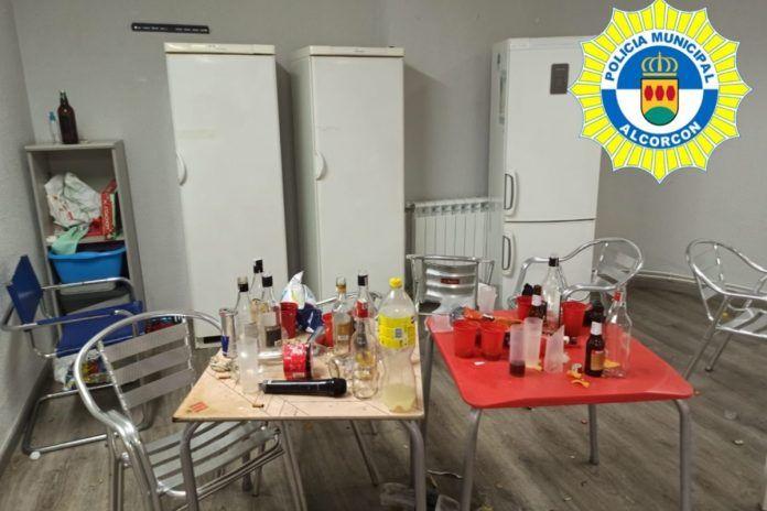 Desalojada una fiesta clandestina en Alcorcón