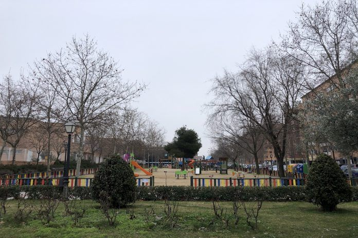 Reabren los parques tras la Borrasca Filomena en Alcorcón
