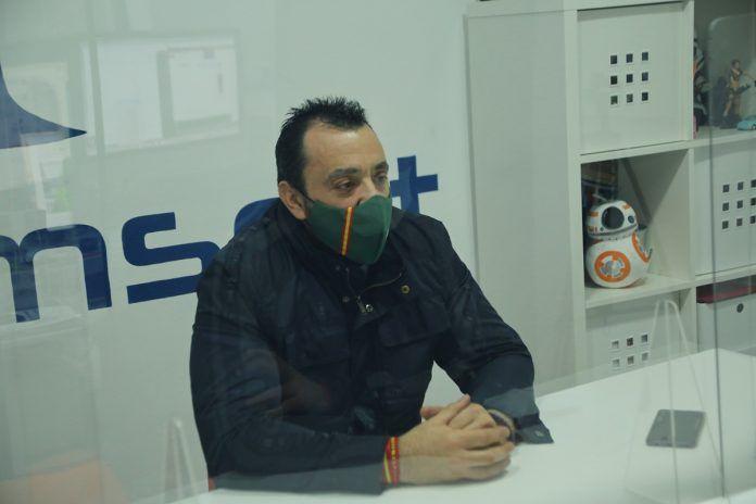 """Pedro Moreno, portavoz de Vox: """"Alcorcón es un desastre constante"""""""
